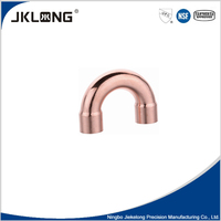 J9021 solder joint Copper fitting 180 degree elbow u bend return bend copper pipe