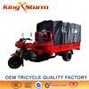 China Supplier hot sale 250cc motorized big wheel tricycle/three wheel motor tricycle