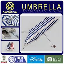 19*7K super light aluminium 3 fold umbrella