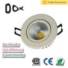 Wholesale 3 years warranty cob led downlight High Power 5w Dimmable led downlight