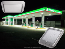 40 watt neutral white compare to a 175W MH led canopy light