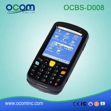Win CE wireless touch screen gsm barcode scanner pda bluetooth