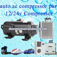 Compressor Type 12 volt dc compressor for r134a brushless 12v dc air conditioner compressor for electric vehicle