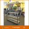 ACEALLY hot sale Slide Style Metal Dannish Container Display Flower Trolley