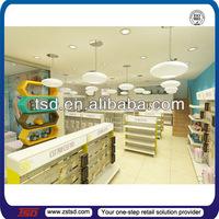TSD-S030 Custom high quality retail toy baby shop display racks/shop furniture garment display/garment shop display