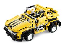 BNR900244 Lightning Flash Rc car plastic Building Blocks educational toys for kids
