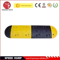 Widely used 1000mm Long Reflective Rubber Truck Speed Limiter