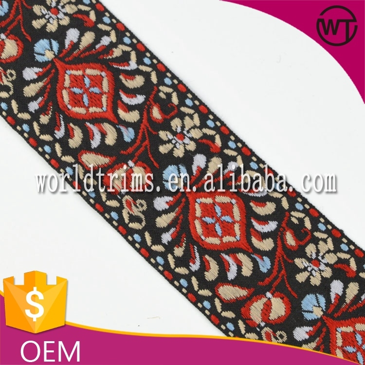 Wholesale Embroidery Designs Borders Of Garment Wnl112