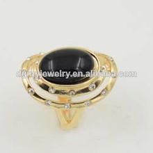 anillo con piedra negro fabricante anillo de piedra negro para los hombres