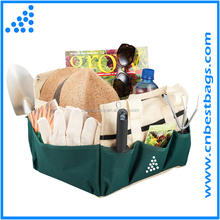 Deluxe Gardening Tote Bag Garden Tool Set with Tote and Folding Seat