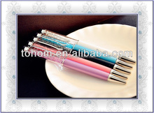 promotional gift new style wholesale swaroski stylus pen with crystal