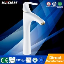 New white paint brass high faucet for Counter Basin