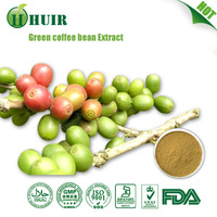 Factory Supplier:Green Coffee Bean Extract/Kosher Green Coffee Bean P.E./ Green Coffee Bean Extract