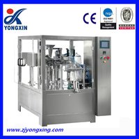 Vertical automatic packing machine for potato chip