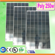 high quality A grade 250w solar modules pv panel with 25 years long life span