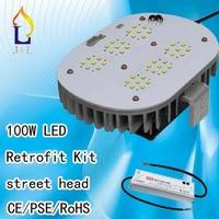 Customized 100w outdoor street light led retrofit kit for illumination 6pcs/lot