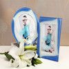 Coloured glaze style chinese new product photo picture frame