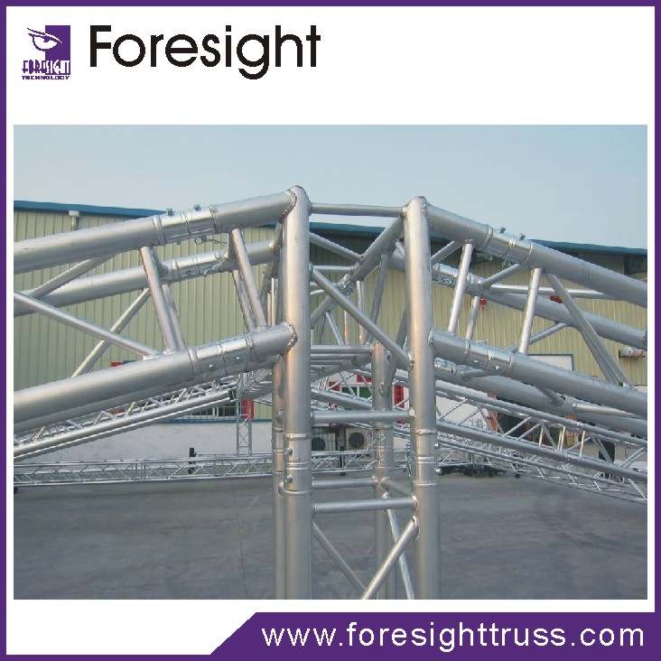 Foresight stage truss aluminum lighting truss event sound for Cheap truss systems