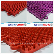 High Quality YICHEN outdoor pp Interlocking tiles direct selling from the factory