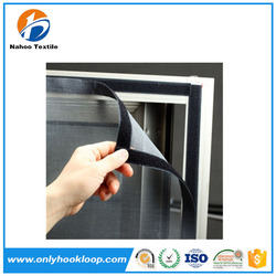 Window use self sticly glue strong adhesive soft hook and loop strip