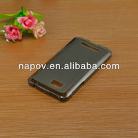 Hot sell Mobile Phone Cover Pudding TPU for htc one su t528w case