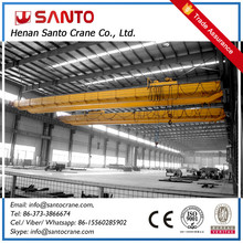 QZ Model Double Girders Grab Overhead Crane For Handling Soil, Coals