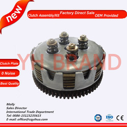 motorcycle clutch plate assy,motorcycle parts 110cc clutch friction disc,motorbike clutch disk ybr125