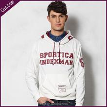 Wholesale Cheap Plain Blank Fleece Pullover Hoodies Customized Design Cotton Thick Hooded Sweatshirt