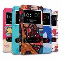 Xiaomi Mi4 Case,High Quality Leather Case Flip Cover Case For Xiaomi MIUI 4 M4 MI4 Screen Protector