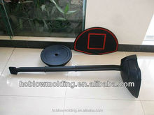 OEM wall mounted basketball backboard HDPE basketball stand and rim