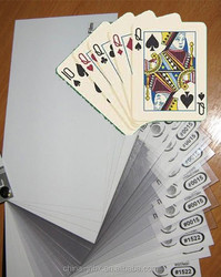 Offset Printing Lamination Low Vicat PVC Card Material/Card Core and Overlay Film