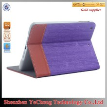 cheap wholesale flip for ipad 2 custom case for tablet with canvas