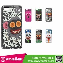2015 New Arrival Stylish Monster Pattern PC + TPU Back Case for iPhone 5 5s