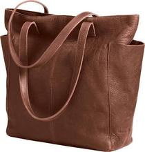 Women's_Lifetime + Leather Travel To-te Bag