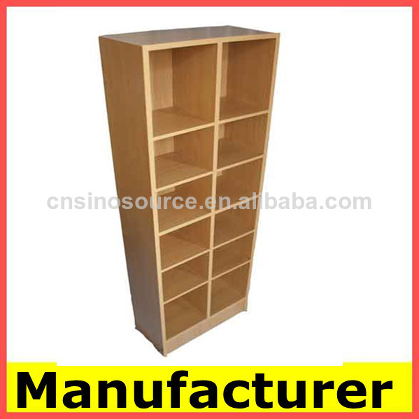 El dise o moderno de madera librer as estanter as del for Libros de muebles de madera