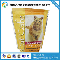 plastic aluminum foil cat food packing bags/dog food packaging bags