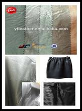 latest pu,soft garment leather