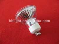 GU10 halogen lamp bulb 220v 50w with CE RoHS certificated