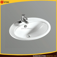 High quality factory direct ceramic counter top basin