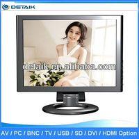 DTK-1728 Factory Supply VGA Input 17 inch LCD Monitor