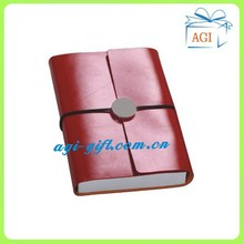 leather pu cover note book