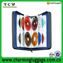 Polyester CD DVD wallet large capacity custom cd bag