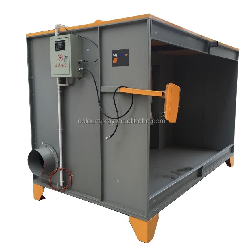 Best selling powder coating spray booth buy spray booth for Powder coating paint booth