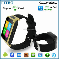 Universal Vibration SMS Sync Skype wrist watch cell phone