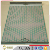 Ady manufacturer High Quality shale vibrating screen mesh / mud screen for oil industry