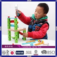 made in China EN71 passed hot sell good quality hand made wooden toys making equipment