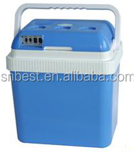 24L Portable thermoelectric cooler and warmer electric 12V car cooler box