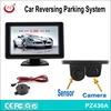 Fatory directly 4.3 inch car reverse camera system, car parking sensor system with car camera