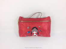 Personal cute polyester cosmetic organizer bag