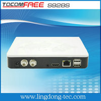 1080p media player hd tocomfree s928s satellite receiver free IKS KS for south america